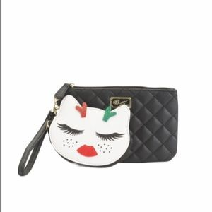 NWT LUV Betsey Wristlet with Detachable Coin Purse